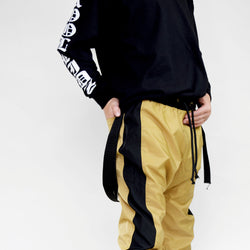 Beau Bella Tan Track Pants