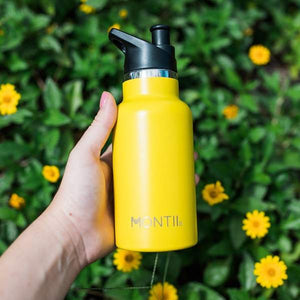 MontiiCo Mini Drink Bottle Yellow