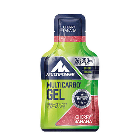 MULTICARBO GEL 24x40g | MULTIPOWER | Outletintegratori.com