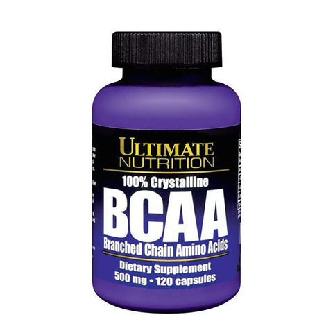 100% CRYSTALLINE BCAA | ULTIMATE NUTRITION | Outetintegratori.com