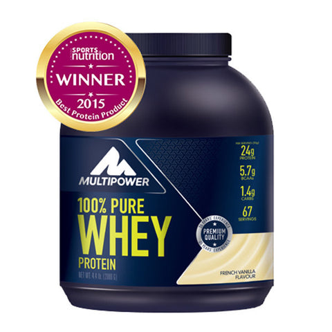 100% PURE WHEY PROTEIN 2kg | MULTIPOWER | Outletintegratori.com