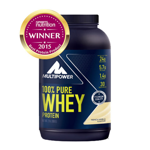 100% PURE WHEY PROTEIN 900g | MULTIPOWER | Outletintegratori.com