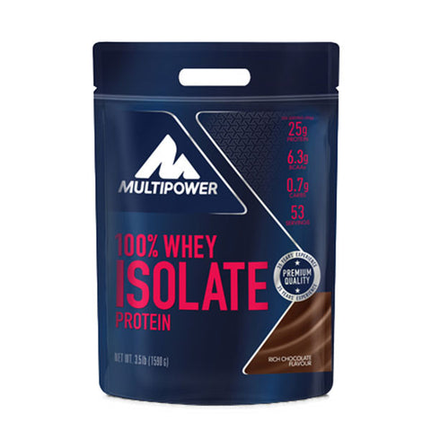 100% WHEY ISOLATE PROTEIN 1.590kg | MULTIPOWER | Outletintegratori.com