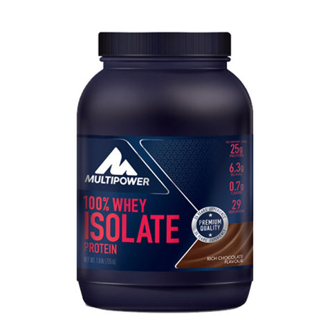 100% WHEY ISOLATE PROTEIN 725g | MULTIPOWER | Outletintegratori.com