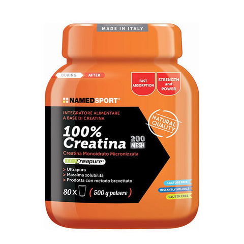 100% CREATINE 500g | NAMED SPORT | Outletintegratori.com