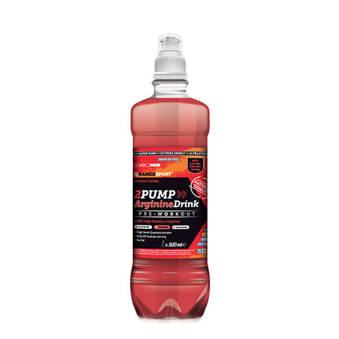 2PUMP ARGININEDRINK 18x500ml | NAMED SPORT | Outletintegratori.com