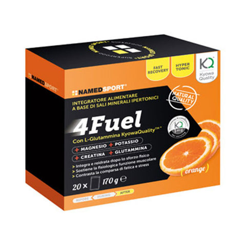 4 FUEL 20x8,5g | NAMED SPORT | Outletintegratori.com
