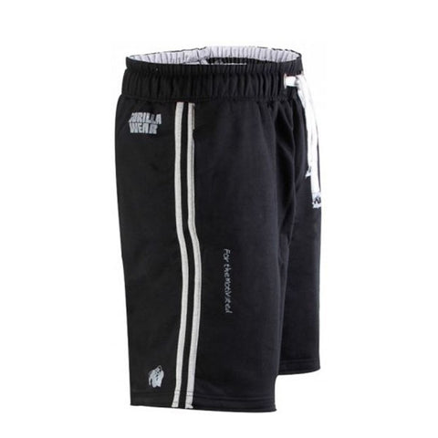 GW 82 SWEAT SHORTS BLACK & GREY 2 | GORILLA WEAR | Outletintegratori.com