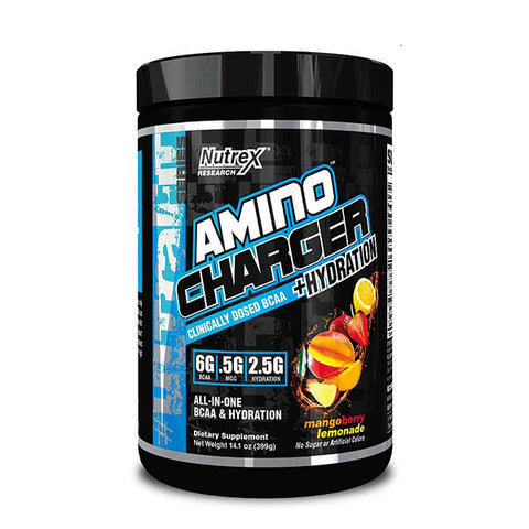 AMINO CHARGER + HYDRATION 399g | NUTREX | Outletintegratori.com