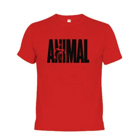 T-SHIRT ANIMAL ICONIC - RED | ANIMAL GEAR | Outletintegratori.com