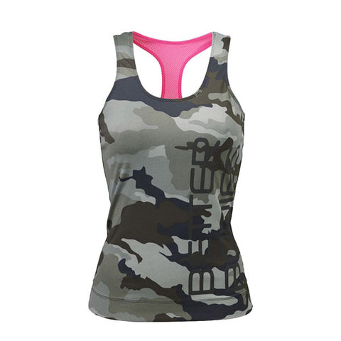 ATHLETE T-BACK - GREEN CAMOPRINT| BETTER BODIES |Outletintegratori.com