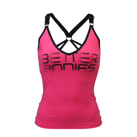 ATHLETE TANK - HOT PINK | BETTER BODIES | Outletintegratori.com