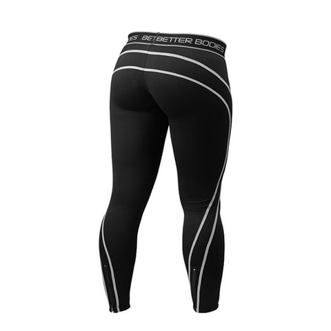 ATHLETE TIGHTS - BLACK & GREY | BETTER BODIES | Outletintegratori.com
