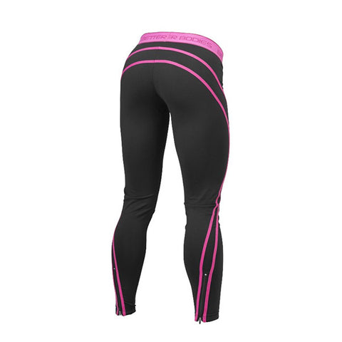 ATHLETE TIGHTS - BLACK & PINK | BETTER BODIES | Outletintegratori.com