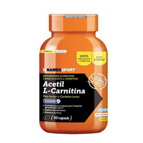 ACETIL L-CARNITINE 60 Cpr | NAMED SPORT | Outletintegratori.com