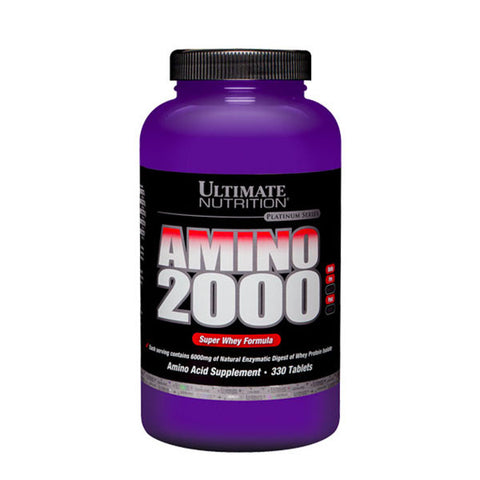 SUPREME WHEY AMINO 2000 330 Tabs | ULTIMATE NUTRITION | Outletintegratori.com