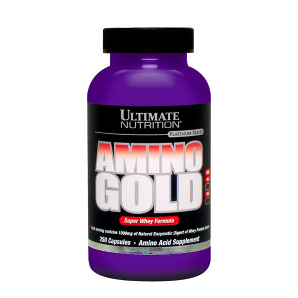 AMINO GOLD 250 Caps 1000mg | ULTIMATE NUTRITION | Outletintegratori.com