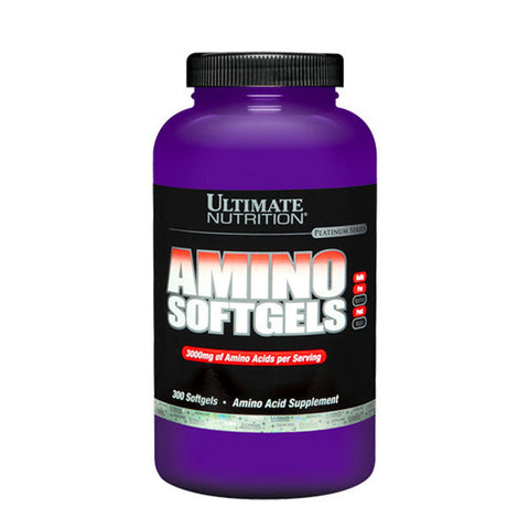 AMINO SOFTGEL | ULTIMATE NUTRITION | Outletintegratori.com