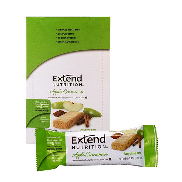 EXTEND BAR 15x40g Apple Cinnamon | EXTEND NUTRITION | Outletintegratori.com