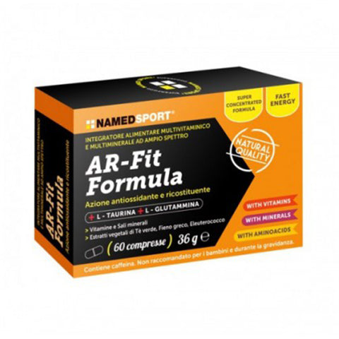 AR-FIT FORMULA 60 Cpr | NAMED SPORT | Outletintegratori.com
