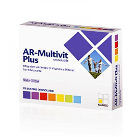 AR-MULTIVIT PLUS 28x61,6g | NAME SPORT | Outletintegratori.com