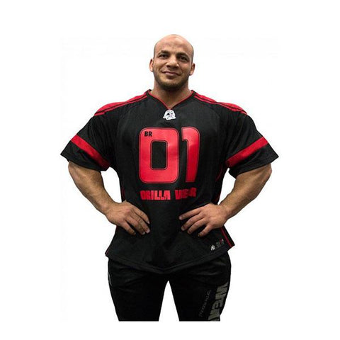 GW ATHLETE T-SHIRT BIG RAMY 1 | GORILLA WEAR | Outletintegratori.com