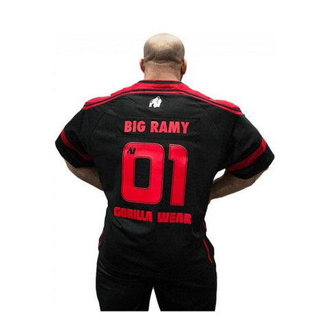 GW ATHLETE T-SHIRT BIG RAMY 2 | GORILLA WEAR | Outletintegratori.com