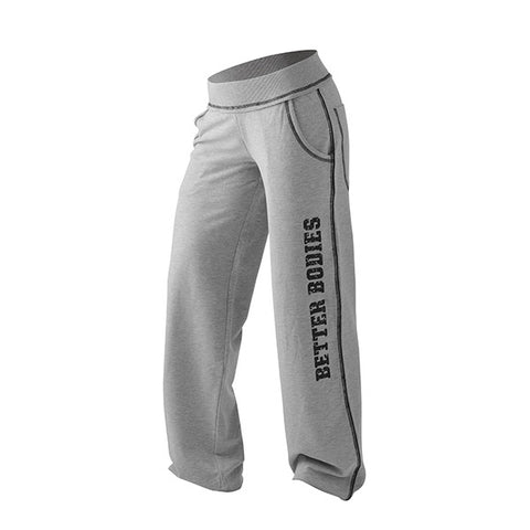 BAGGY SOFT PANT - GREY MELANGE | BETTER BODIES | Outletintegratori.com