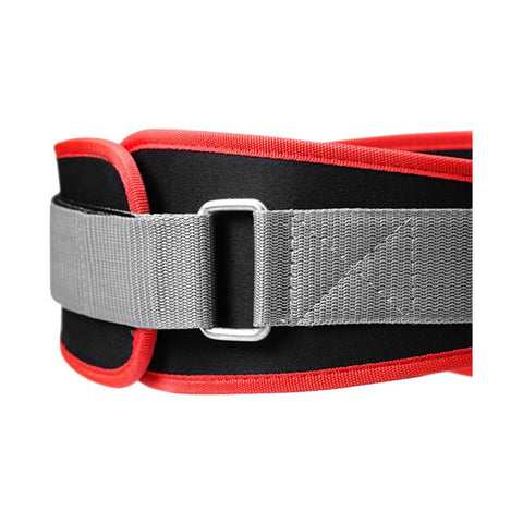 BASIC GYM BELT - BLACK & RED | BETTER BODIES | Outletintegratori.com