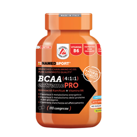 BCAA 4:1:1 extremePRO 110 Cpr | NAMED SPORT | Outletintegratori.com