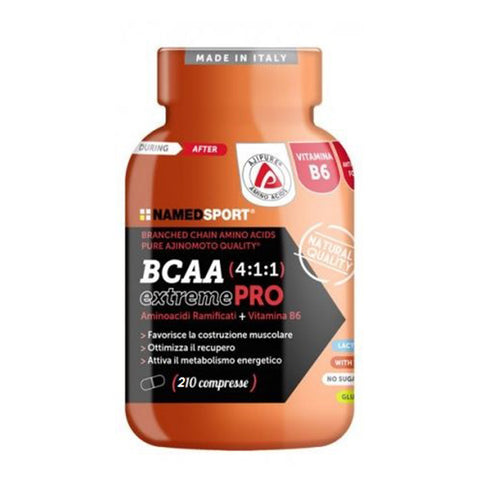BCAA 4:1:1 extremePRO 210 Cpr | NAMED SPORT | Outletintegratori.com