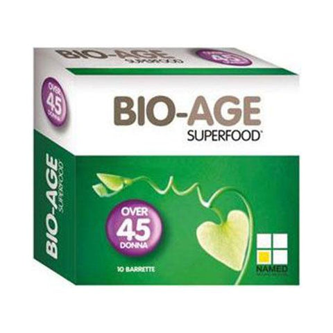 BIO-AGE SUPERFOOD DONNA 10x25g | NAMED SPORT | Outletintegratori.com