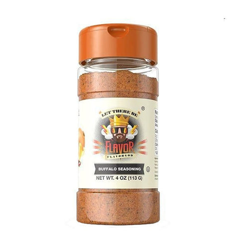 BUFFALO SEASONING 113g | FLAVOR GOD | Outletintegratori.com