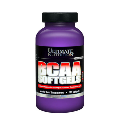 BCAA SOFTGELS | ULTIMATE NUTRITION | Outletintegratori.com