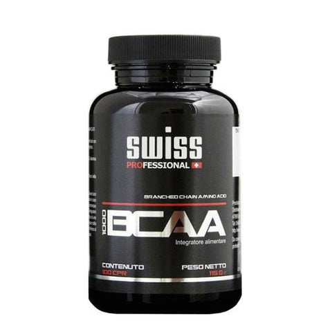 BCAA 1000 100 Cpr | SWISS PROFESSIONAL | Outletintegratori.com