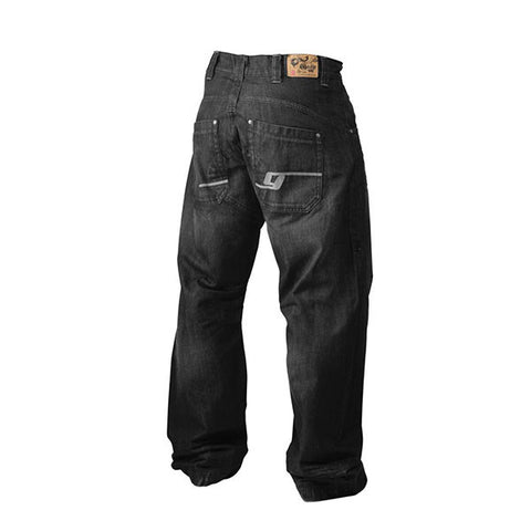 BAGGY DENIM NERO RETRO | GASP WEAR | Outletintegratori.com