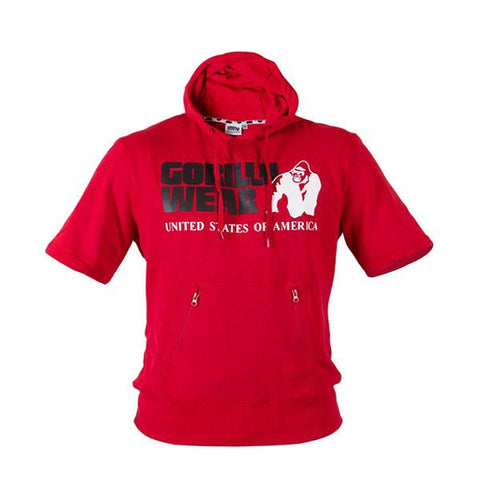 GW BOSTON SHORT SLEEVE HOODIE 5 | GORILLA WEAR | Outletintegratori.com