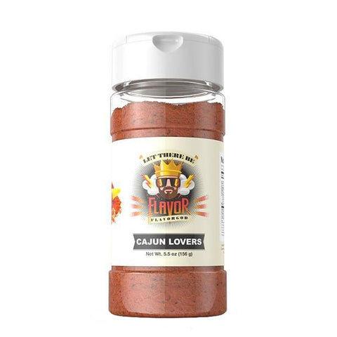 CAJUN LOVERS SEASONING 141g | FLAVOR GOD | Outletintegratori.com