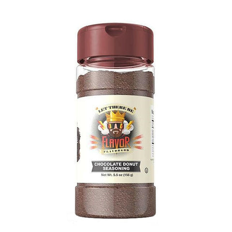 CHOCOLATE DONUT SEASONING 156g | FLAVOR GOD | Outletintegratori.com