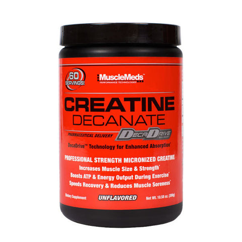 CREATINA DECANATE | MUSCLEMEDS | Outletintegratori.com
