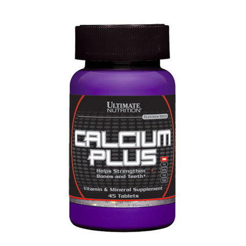 CALCIUM PLUS | ULTIMATE NUTRITION | Outletintegratori.com