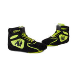 CHICAGO HIGH TOPS BLACK & NEON LIME|GORILLA WEAR|Outletintegratori.com