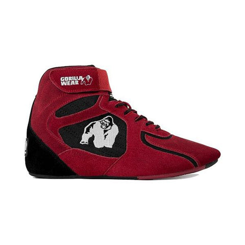 CHICAGO HIGH TOPS RED & BLACK | GORILLA WEAR |Outletintegratori.com