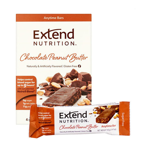 EXTEND BAR 15x40g Chocolate Peanut Butter | EXTEND NUTRITION | Outletintegratori.com