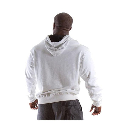 GW CLASSIC HOODED TOP PURE WHITE | GORILLA WEAR |Outletintegratori.com