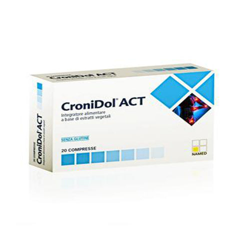 CRONIDOL ACT 20 Cpr | NAMED SPORT | Outletintegratori.com
