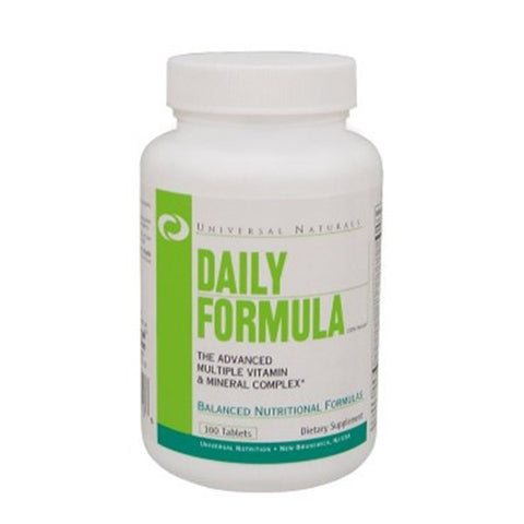 DAILY FORMULA 100 Tabs | UNIVERSAL | Outletintegratori.com