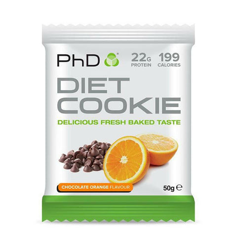 DIET COOKIE 12x50g Chocolate Orange | PhD | Outletintegratori.com