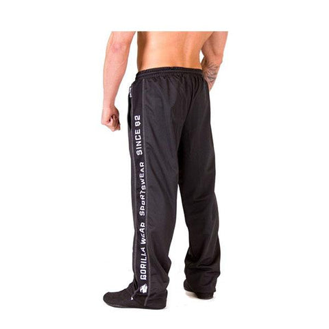 FUNCTIONAL MESH PANTS-BLACK & WHITE|GORILLA WEAR|Outletintegratori.com
