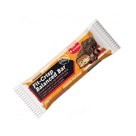 FIT CRISP BALANCED BAR 24x38g | NAMED SPORT | Outletintegratori.com